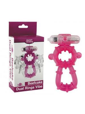 Beefcake Dual Ring Vibe