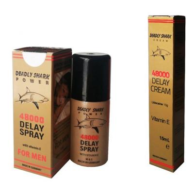 Delay 48000 Sprey + Krem